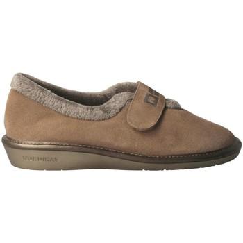 Schuhe Damen Hausschuhe Nordikas  Beige