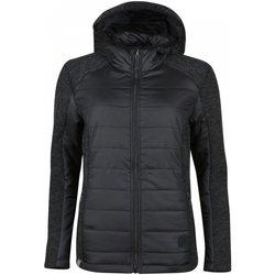 Kleidung Damen Jacken High Colorado Sport SAVONA-L, Lds. Hybrid Jacket,anthra 1082159 grau