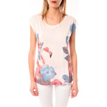 Kleidung Damen T-Shirts Little Marcel T-shirt E15FTSS0231 Tibali Rose poudre Rose