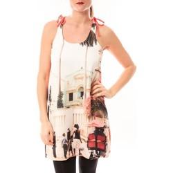 Kleidung Damen Kurze Kleider Little Marcel Robe Risima E15FDRE0314 Rose Corail Rose