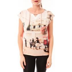 Kleidung Damen T-Shirts Little Marcel Tee-shirt Trisi E15FTSS0333 rose corail Rose