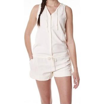 Kleidung Damen Overalls / Latzhosen Little Marcel Combishort Cosbi E15WSHO0203 Blanc Ivoire Weiss