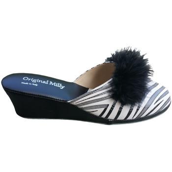 Schuhe Damen Pantoletten / Clogs Milly MILLY300zebner nero