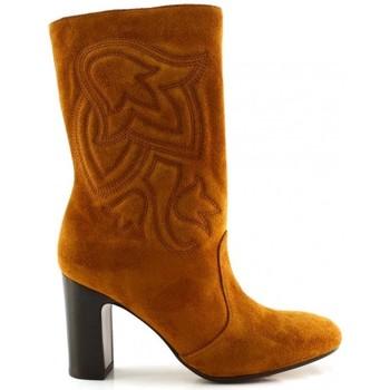Schuhe Damen Klassische Stiefel Chie Mihara ERUM Braun