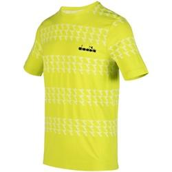Kleidung Herren T-Shirts Diadora Sport SS SKIN FRIENDLY T-SHIRT 102.176829 70323 grün