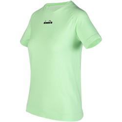 Kleidung Damen T-Shirts Diadora Sport L. SS SKIN FRIENDLY T-SHIRT 102.176818 70237 grün