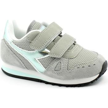Schuhe Kinder Sneaker Low Diadora DIA-I21-75067-PG Grigio