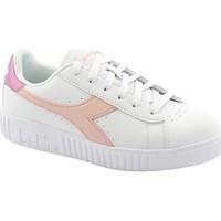 Schuhe Damen Sneaker Low Diadora DIA-I21-C9569-RO Bianco