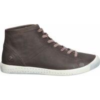 Schuhe Damen Sneaker High Softinos Stiefelette Braun