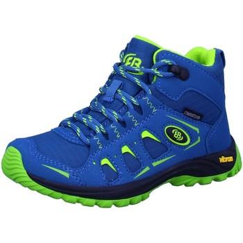 Schuhe Jungen Wanderschuhe Brütting Bergschuhe Morelia 231103 blau