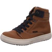 Schuhe Jungen Stiefel Vado Schnuerstiefel Bosse 45502-210 braun