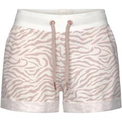 Kleidung Damen Shorts / Bermudas Lascana Loungewear Shorts Elfenbein