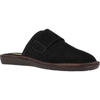 Schuhe Herren Hausschuhe Nordikas 375 Schwarz