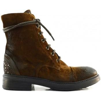 Schuhe Damen Boots Now 7020 Braun