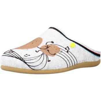 Schuhe Damen Hausschuhe Hot Potatoes 64638G Grau