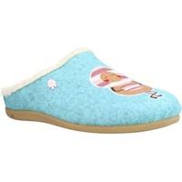 Schuhe Mädchen Hausschuhe Hot Potatoes 64641G Blau