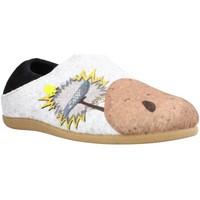Schuhe Jungen Hausschuhe Hot Potatoes 64662G Grau
