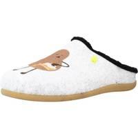 Schuhe Herren Hausschuhe Hot Potatoes 64652G Grau