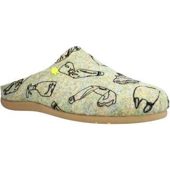 Schuhe Herren Hausschuhe Hot Potatoes 64660G Grau