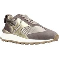 Schuhe Damen Sneaker Low Voile Blanche 111976 Brown