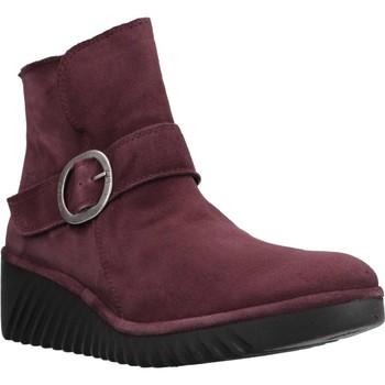 Schuhe Damen Low Boots Fly London P501334003 Rot