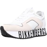 Schuhe Damen Sneaker Low Bikkembergs LATY - LOW TOP LACE UP Weiß
