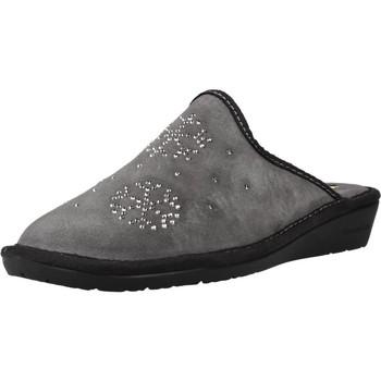 Schuhe Damen Hausschuhe Nordikas 1747 8 Grau