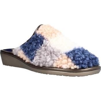 Schuhe Damen Hausschuhe Nordikas NORY Blau
