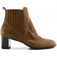 Schuhe Damen Low Boots Brunate 58360 tabac Braun