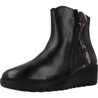 Schuhe Damen Low Boots 24 Hrs 25080 Schwarz