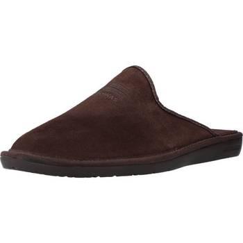 Schuhe Herren Hausschuhe Nordikas 236 Brown