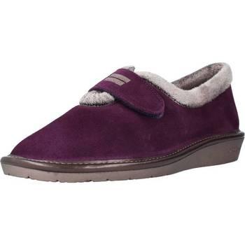 Schuhe Damen Hausschuhe Nordikas 6348N Violett