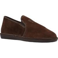 Schuhe Herren Hausschuhe Nordikas 132 Brown