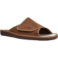 Schuhe Herren Hausschuhe Nordikas 3116N 3116 Brown
