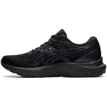 Schuhe Damen Sneaker Low Asics Gelcumulus 23 Schwarz