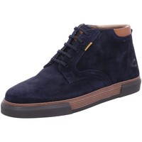Schuhe Herren Sneaker High Camel Active Schnuerschuhe Bayland Mid Lace Shoe 23243522/C67 blau