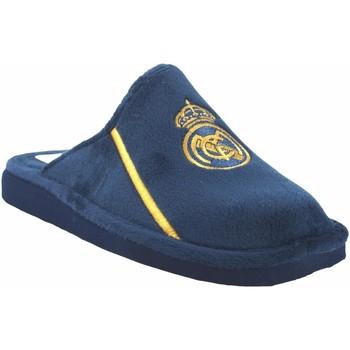 Schuhe Herren Hausschuhe Andinas Go home Gentleman  918-90 blau Blau