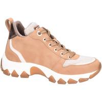 Schuhe Damen Sneaker High Bugatti Stiefeletten 431952325550-6381 braun