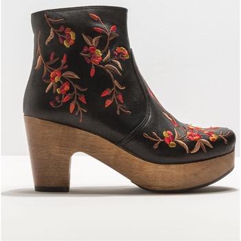 Schuhe Damen Low Boots Neosens 332611101003 BLACK