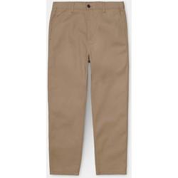 Kleidung Herren Chinohosen Carhartt Carhartt WIP Menson Pant - Leather (rinsed) 534
