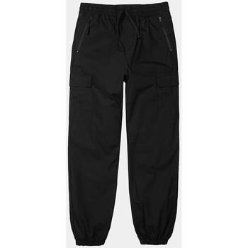 Kleidung Herren Cargo Hosen Carhartt Carhartt WIP Cargo Jogger - Black (rinsed) 38
