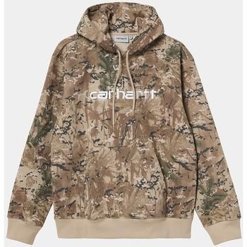 Kleidung Herren Sweatshirts Carhartt Carhartt WIP Hooded Carhartt Sweat - Camo Combi, Desert / White 534