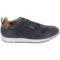 Schuhe Sneaker Low Bullboxer Sneaker 53ANACO Bleu Blau