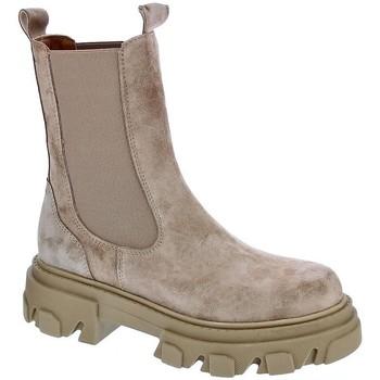 Schuhe Damen Low Boots Alpe 20751151 Beige