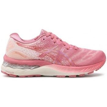 Schuhe Damen Sneaker Low Asics Gel Nimbus 23 Rosa
