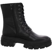 Schuhe Damen Low Boots Online Shoes Stiefeletten NV,black F-8377-06 schwarz