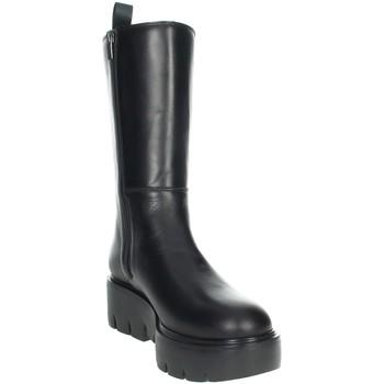 Schuhe Damen Klassische Stiefel CallagHan 46006 Schwarz