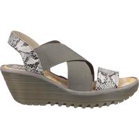 Schuhe Damen Sandalen / Sandaletten Fly London Sandalen Grau