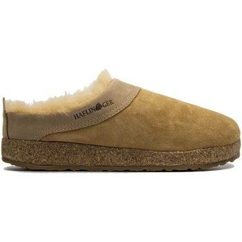 Schuhe Damen Hausschuhe Haflinger HF-SNOWB-bei-D BEIGE