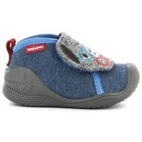 Schuhe Jungen Hausschuhe Biomecanics 211163 bleu